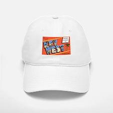 Key West Florida Greetings Baseball Baseball Cap