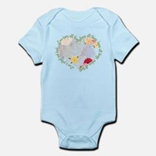 Love is Patient Infant Bodysuit