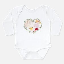 Love is Patient Long Sleeve Infant Bodysuit