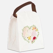 Love is Patient Canvas Lunch Bag
