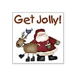 getjollytees.png Square Sticker 3