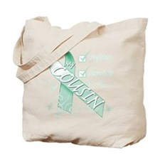 Cousin is a Fighter and Survivor.png Tote Bag