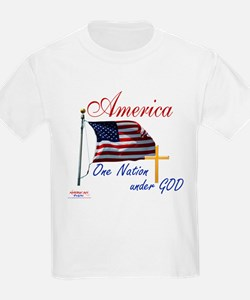 America One Nation Under God T-Shirt