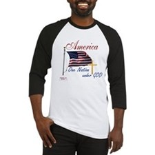 America One Nation Under God Baseball Jersey