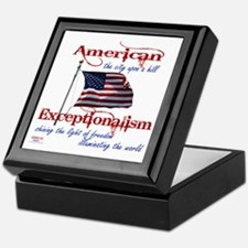 American Exceptionalism City Upon A Hill Keepsake