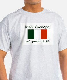 Proud Irish Grandpa T-Shirt