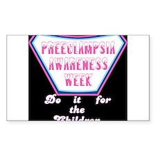 Preeclampsia Awareness Week t-shirt Decal