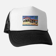 Key West Florida Greetings Trucker Hat