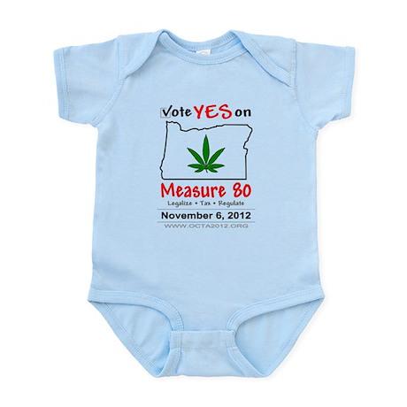 Vote YES on Oregon Measure 80 Infant Bodysuit