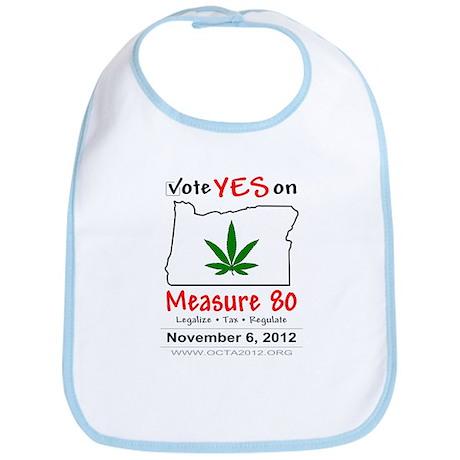 Vote YES on Oregon Measure 80 Bib