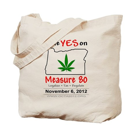 Vote YES on Oregon Measure 80 Tote Bag