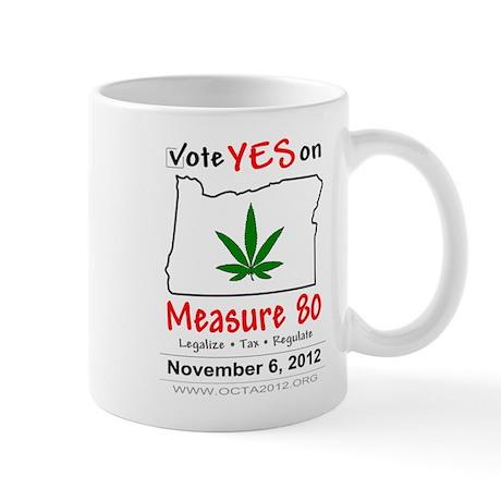 Vote YES on Oregon Measure 80 Mug