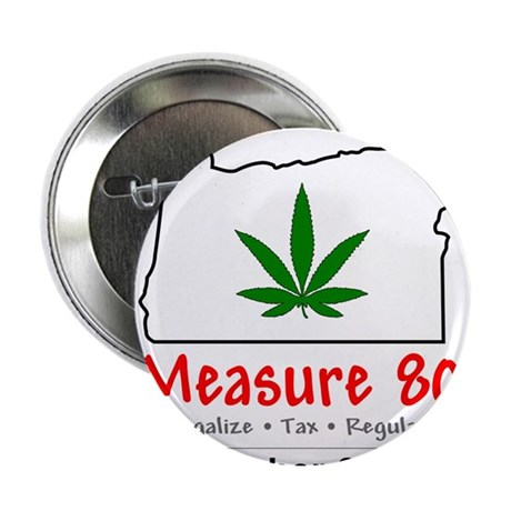 """Vote YES on Oregon Measure 80 2.25"""" Button"""