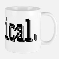 3-illogical spock trans.png Mug