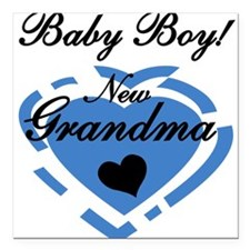 """2newgmaboy.png Square Car Magnet 3"""" x 3"""""""