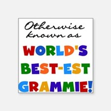 "grandcolorsgrammieB.png Square Sticker 3"" x 3"""