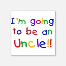 """CPPRIMARYUNCLE.png Square Sticker 3"""" x 3"""""""