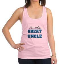 bluegreatuncle.png Racerback Tank Top
