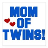 Twin boys Car Magnets