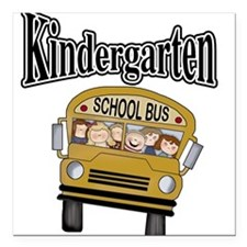 """kgardtenbustee.png Square Car Magnet 3"""" x 3"""""""