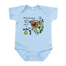 Partridge in a pear tree Infant Bodysuit