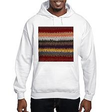 Knitting Stripes Hoodie