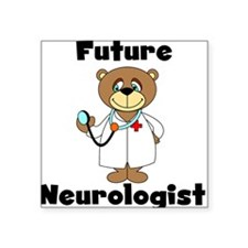 "futureneurologistASA.png Square Sticker 3"" x 3"""