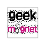 geekmagnetshirt.png Square Sticker 3
