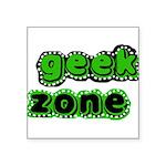 greengeekzone.png Square Sticker 3