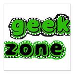 greengeekzone.png Square Car Magnet 3