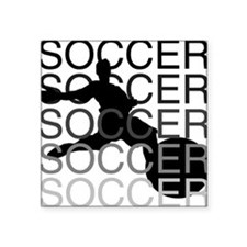 "soccerscocer.png Square Sticker 3"" x 3"""