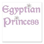 egyptianprincess.png Square Car Magnet 3