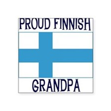 "FINNISHGRANDPA2.png Square Sticker 3"" x 3"""
