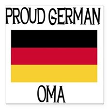 "GERMANOMA.png Square Car Magnet 3"" x 3"""