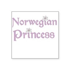 "norwegianbaby.png Square Sticker 3"" x 3"""