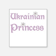 "UKRAINIANPRINCESS.png Square Sticker 3"" x 3"""