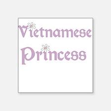 """vietnamesseprincess.png Square Sticker 3"""" x 3"""""""