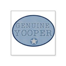 "bluegenuineyoopers.png Square Sticker 3"" x 3"""