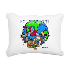 GOPLANET.png Rectangular Canvas Pillow