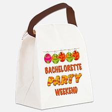 Tropical Bachelorette Weekend Canvas Lunch Bag