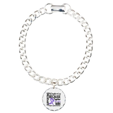Support Daughter-in-Law Charm Bracelet, One Charm