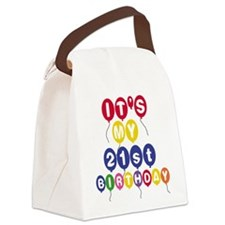 21STBDAYPERSa.png Canvas Lunch Bag