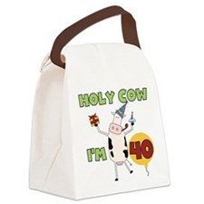 holycow40.png Canvas Lunch Bag