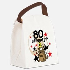 cat80alreadytee.png Canvas Lunch Bag