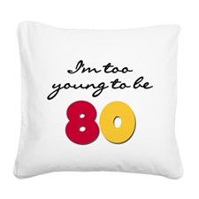 youngbe80.png Square Canvas Pillow