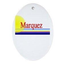 Marquez Oval Ornament