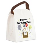 SMOREBIRTHDAYFUN.png Canvas Lunch Bag
