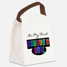 Cute First mothers day Canvas Lunch Bag