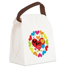 MOMHEARTSGALORE.png Canvas Lunch Bag