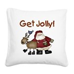 getjollytees.png Square Canvas Pillow
